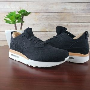f8f6b2798 Nike Shoes - 🆕 Nike Air Max 1 ROYAL Black Suede Leather